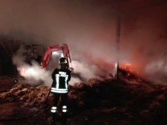 Incendio rotoballe a Foglianise, fiamme domate dai Vigili del Fuoco