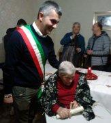 Maria Carmela Spagnoletti festeggia 100 anni (26 dicembre 2018)