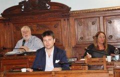 Consiglio Provinciale di Benevento. Il Presidente Claudio Ricci e Francesco Maria Rubano