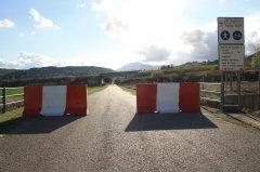 Barriere Jersey sulla Benevento - Vitulano