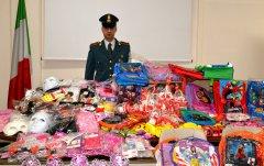 Guardia di Finanza di Avellino. Articoli non sicuri sequestrati