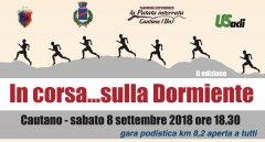 Cautano, il prossimo 8 settembre la seconda edizione di In corsa sulla Dormiente