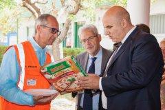 La Pizza Bella Napoli prodotta nello stabilimento Buitoni di Benevento