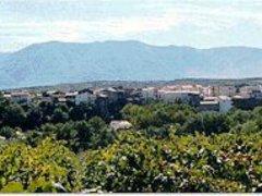 Veduta panoramica di Castelvenere