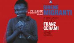 Pietrelcina. Sirene Migranti, installazione digitale di Franz Cerami