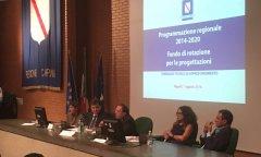 Regione Campania. Seminario sul Fondo di rotazione per progettazione enti locali