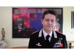 Colonnello Alessandro Puel, comandante provinciale dei Carabinieri di Benevento
