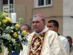 L'Arcivescovo di Benevento Andrea Mugione