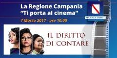La Regione ti porta al cinema per vedere Il Diritto di Contare