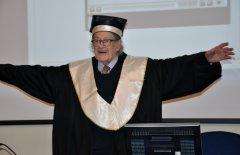 Laurea Honoris causa a Ugo Gregoretti alla Suor Orsola Benincasa di Napoli