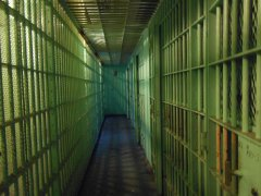 Celle del carcere (foto di archivio)