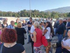 Protesta contro la chiusura del pronto soccorso di Sant'Agata de' Goti