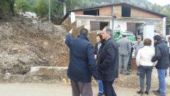 Castiglione e Marinello visitano le aziende sannite colpite dall'alluvione
