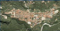 Vista aerea di Cerreto Sannita - Ciaburri