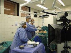 Intervento laparoscopico