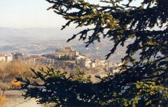 Una vista di Campolattaro.