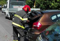 Incidente svincolo Castelpoto
