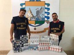 Sigarette di contrabbando nel retrobottega, denunciato 27enne ucraino