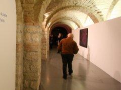 L'interno del museo Arcos di Benevento
