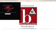 BMagazine, home provvisoria dopo hackeraggio Isis