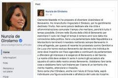Nunzia De Girolamo: Mastella mi ha proposto la carica di vicesindaco