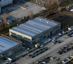 una veduta della zona industriale Asi di Ponte Valentino a Benevento