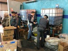 Guardia di Finanza Caserta, sequestrati 90mila litri di olio lubrificante