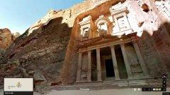 Google Street View in Giordania: lo spettacolo di Petra