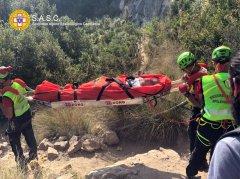 Salerno. Infortunio sul Sentiero degli Dei, 22enne salvata dal Corpo Nazionale Soccorso Alpino
