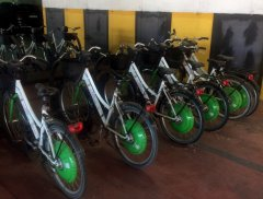 E-Bike 0, bici elettriche abbandonate