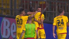 Highlights. Benevento 1-0 Perugia, play-off di Serie B