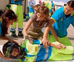 Simulazione di tecniche di primo soccorso