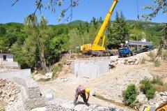 Lavori di rifacimento del Ponte Jenga