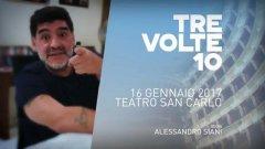 Il video-appello di Maradona: Vi aspetto al San Carlo