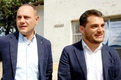 Gianfranco Ucci a destra, Danilo Travaglione a sinistra