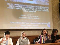 Finanziamento alle scuole paritarie, emendamento di Sandra Lonardo al DDL per il finanziamento del sistema integrato scolastico