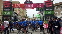 Giro d'Italia, pedalata amatoriale con Moser e Fondriest