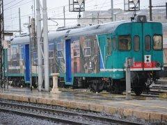 Benevento. Treno regionale (foto di archivio)