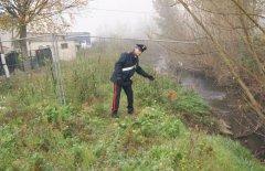 Svernamento illegale nel torrente Isclero