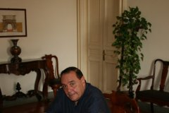 Clemente Mastella in riunione