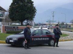 Carabinieri Montesarchio (foto di archivio)
