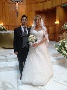 Gli sposi Annachiara Varricchio e Giovanni Rossi