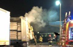 Incendio autocarro SST