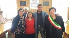 Arpaise (Benevento). Cerimonia di pensionamento di Orsola Marra