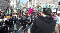 Libera Benevento. Foto tratte dal profilo fb del Coordinamento di Libera Benevento