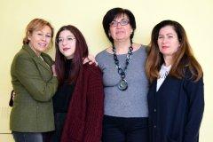 Manuela Maffei al Campionato Nazionale delle Lingue di Urbino con le docenti e la dirigente scolastica
