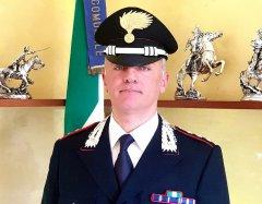 Capitano Francesco Altieri, comandante della Compagnia Carabinieri di Cerreto Sannita