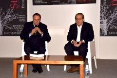 Roberto Napoletano e Clemente Mastella