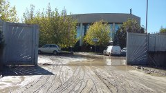 Nubifragio nel Sannio - Benevento, Zona Industriale