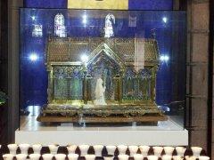 Reliquie Santa Bernadette (foto di archivio)